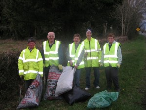 Litter picking April 2013